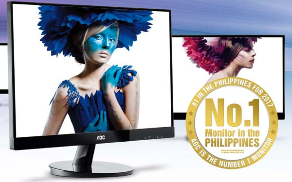 AOC is still the leading monitor brand in PH