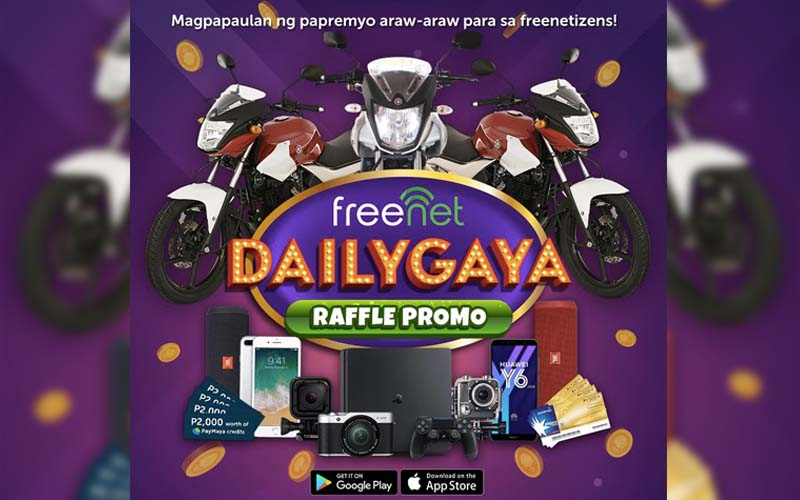 Win exciting prizes everyday with Dailygaya Raffle Promo