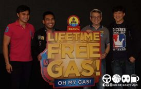 Oh My Gas!!! SEAOIL's Lifetime Free Gas promo is back.
