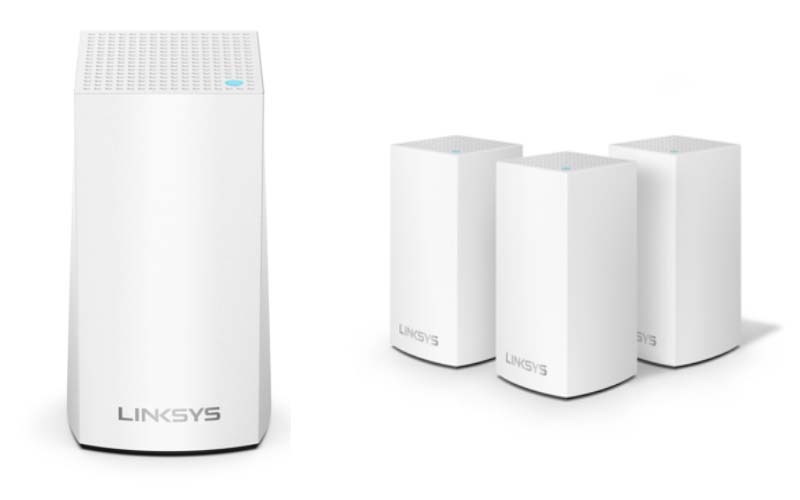 More powerful WiFi connection for the whole family with the Velop Dual-Band Mesh WiFi System