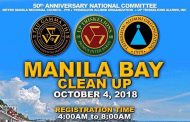 50 GOLDEN YEARS | Tau Gamma Phi to Celebrate its 50th Year of Supremacy by Cleaning Up Manila Bay