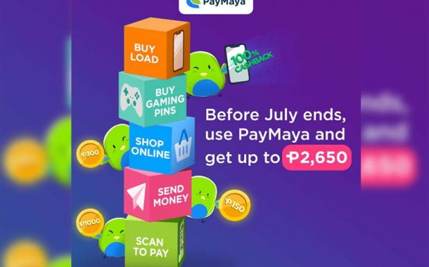 Get more with Paymaya before July Ends