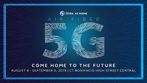 Globe unleashes 5G availability in Pasig