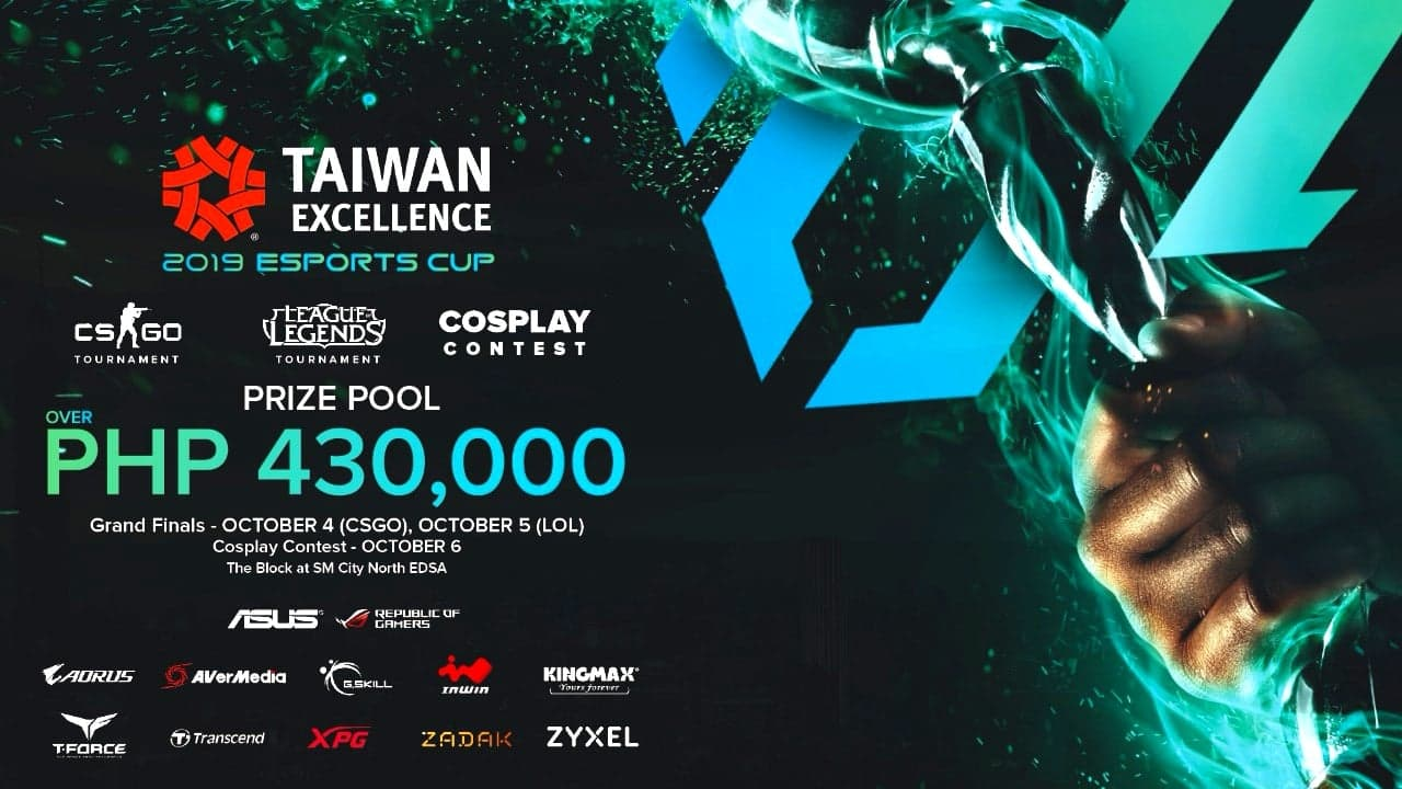 Taiwan Excellence gathers the best brands in gaming in its 2019 eSports Cup