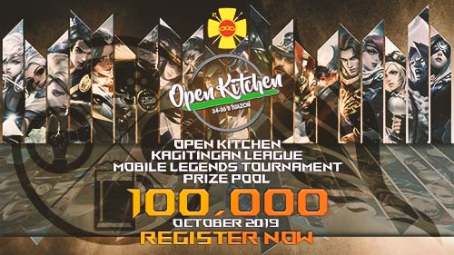 Open Kitchen's Kagitingan League Registration