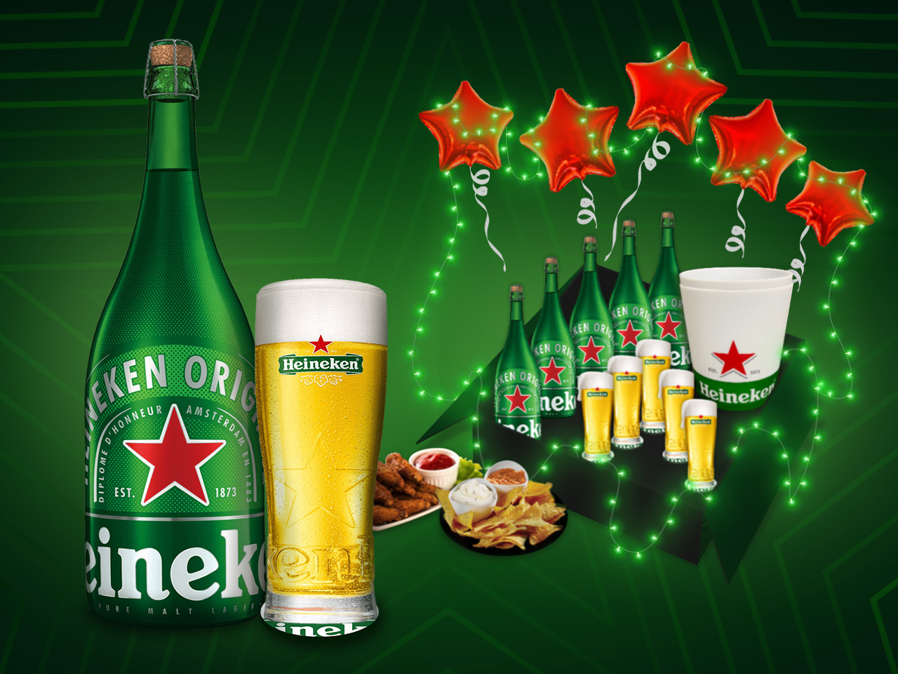 Here's how everyone partied together in the same location at Heineken's 5-Star Christmas Party without being physically together