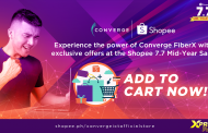 Experience the power of Converge FiberX with exclusive offers at the Shopee 7.7 Mid-Year Sale