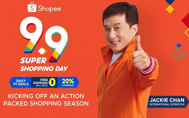 Shopee Kicks off the Most Action-Packed Year-End Shopping Season with 9.9 Super Shopping Day with Jackie Chan